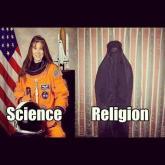 Science vs Religion Women