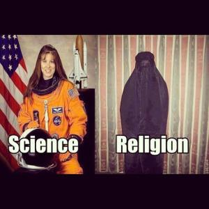 Science vs Religion Women