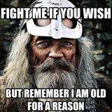 Beware Old Vikings