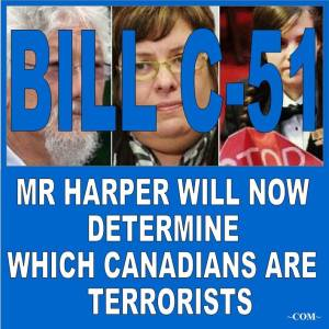 C 51 sees terrorists everywhere