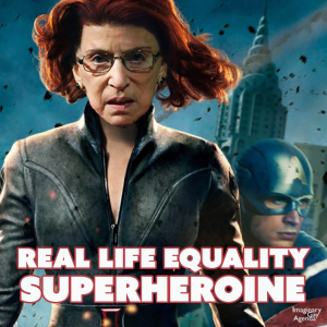 Notorius RBG superhero
