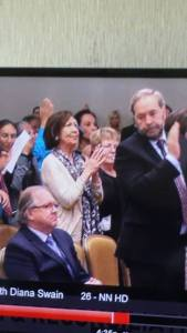 Tom Mulcair's face says it all in dealing with Bernard Valcourt's refusal to stand for the murdered and missing Indigenous women