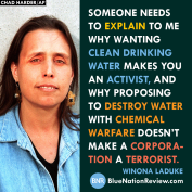 Winona Laduke nailz it