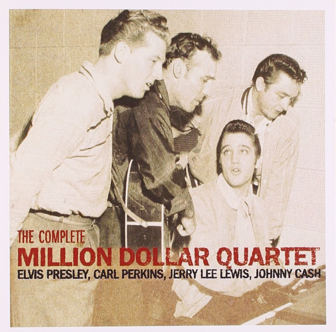 Image result for sam phillips sun records- million dollar quartet