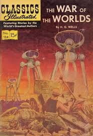 Classics Illustrate War of the Worlds
