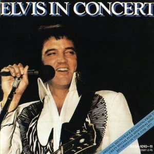 elvis in concert album