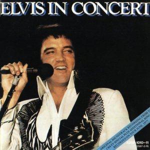 elvis in concert album