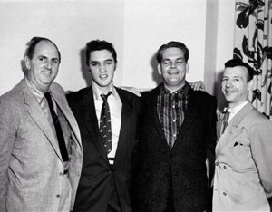 Parker Steve Sholes Elvis and Hank Snow