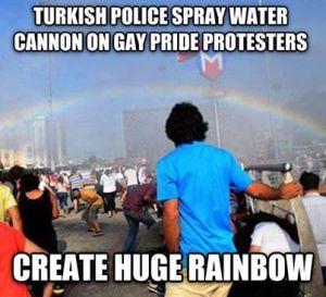 Rainbow Turkey Pride 2015