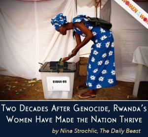 Rwanda Women Post Genocide