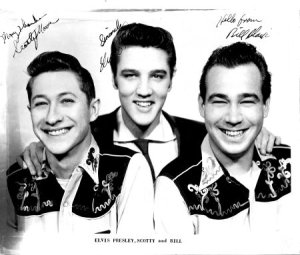 Scotty Elvis and Bill