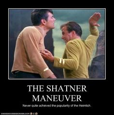 The Shatner Manoever