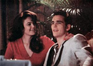 THE BIG TOWN, from left: Diane Lane, Matt Dillon, 1987. ©Col umbia