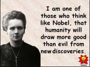 Currie on Nobel