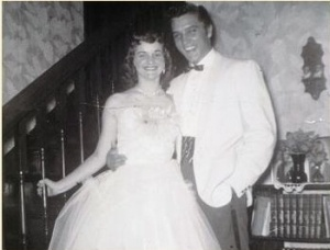 Dixie Locke with Elvis Prom Date