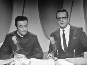 Lenny Bruce and Steve Allen