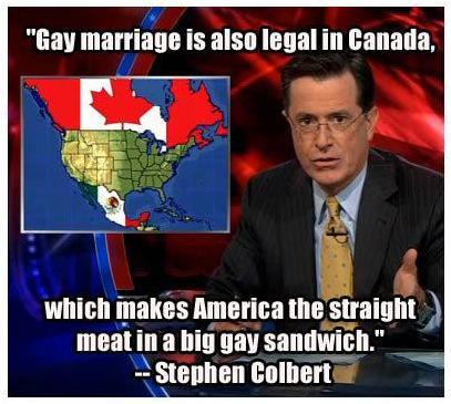 Colbert gay marriage