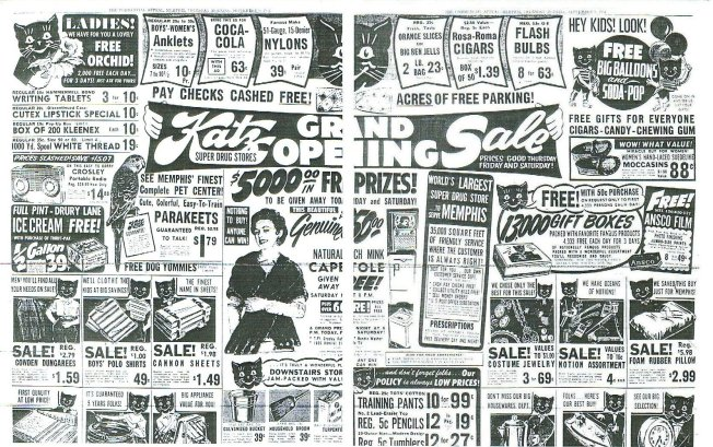 Image result for Katz Drug Store elvis ad