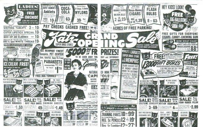 Image result for Katz Drug Store elvis ad