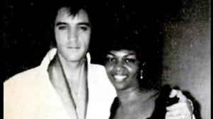 Elvis and Cissy Houston