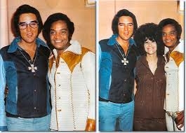 Elvis and Jackie Wilson 70s