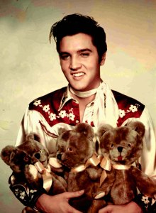 elvis-early-teddy-bear
