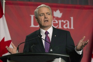 Marc Garneau takes part in the Liberal leadership debate in Mississauga, Ont., on Saturday, February 16, 2103. Sources close to Garneau say he is pulling out of the party's leadership race in the face of what appears to be an insurmountable lead for front-runner Justin Trudeau. THE CANADIAN PRESS/Chris Young