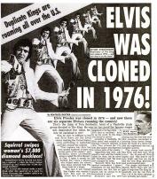 Weekly World News Elvis Cloned 1993