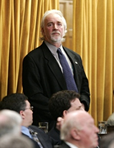 Chuck Cadman votes Liberal Budget