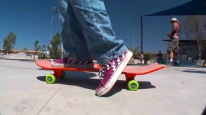 footboarding