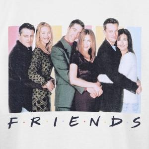 friends-cast-logo-t-shirt