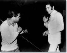 Lionel Rose and Elvis