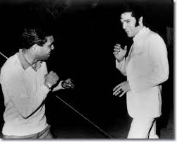 Lionel Rose and Elvis