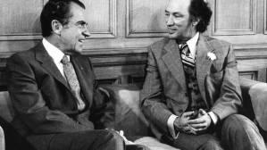 Trudeau+with+Nixon