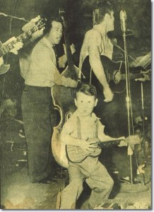 1955_april_30 Royce Hanson Jr. and Elvis Presley