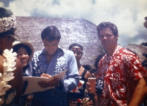 Elvis and Jerry in Hawaii