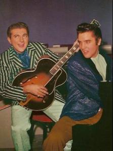 Liberace and Elvis