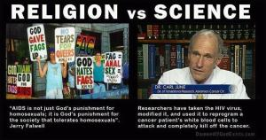 religion v science