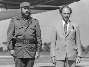 Trudeau and Fidel Castro, arrival in Havana 1976 mandatory credit: photo by Rod MacIvor/Ottawa Ottawa Citizen use only. : Trudeau: Photos by Rod MacIvor Ottawa Citizen use only. :