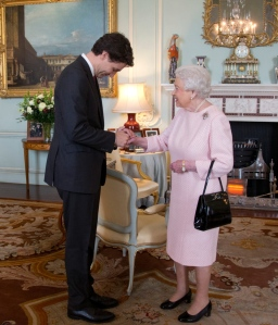 Trudeau and Queen