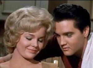 Tuesday Weld and Elvis
