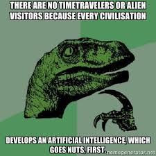 tx rex ai meme