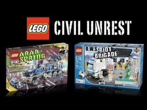 Lego Civil Unrest Sets
