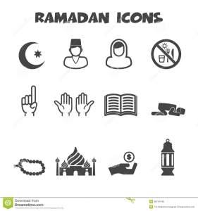ramadan-icons-mono-vector-symbols-38741446