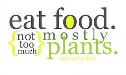 The healthy eating mantra