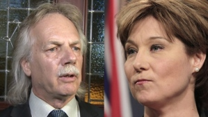 president Jim Iker vs christy-clark