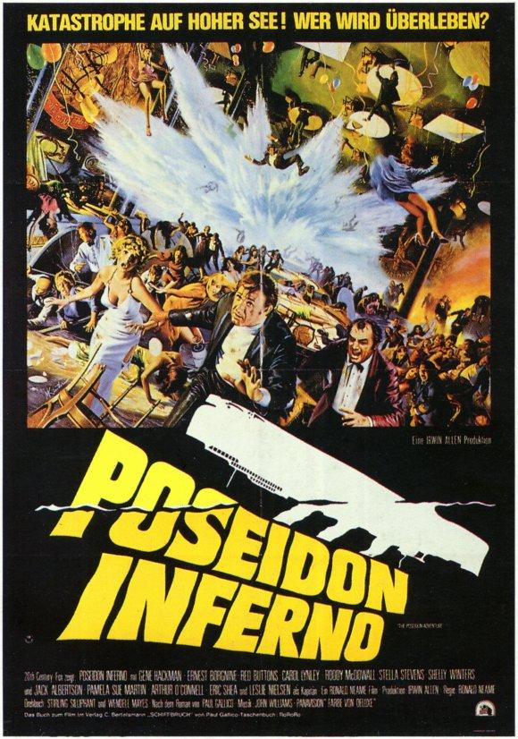 The Poseidon Adventure Movie Poster 1972 German Style A 11