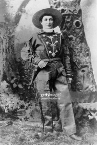 Portrait of Martha Jane Burke, aka Calamity Jane. United States: c. 1875 (Photo by Underwood Archives/Getty Images)