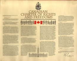 Headlines from 1982 proclamation of the Charter