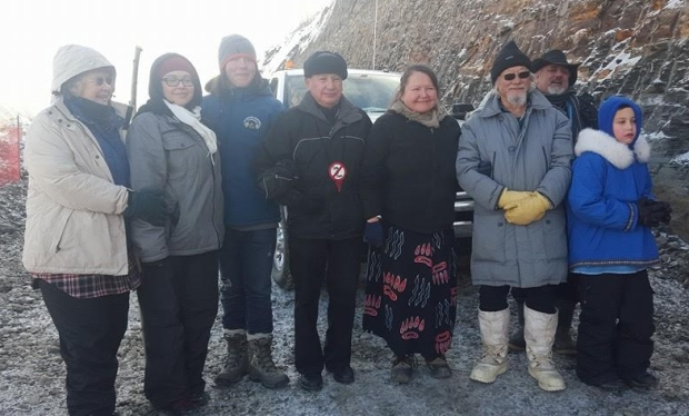 david-suzuki-at-site-c-protest-camp